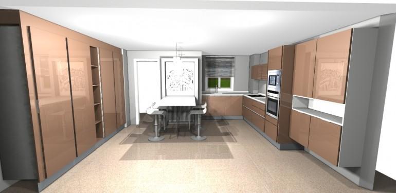 Brillo vis n y una cocina con mucha clase - Cocina con clase ...