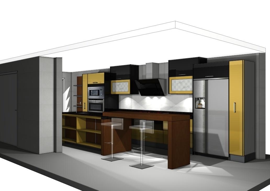 Acoplando una cocina de exposici n para uno de nuestros clientes - Liquidacion cocinas exposicion madrid ...