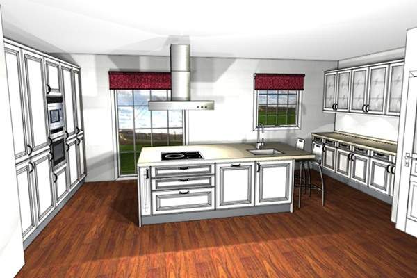 Cocinas r sticas el dise o perfecto for Cocinas rusticas blancas