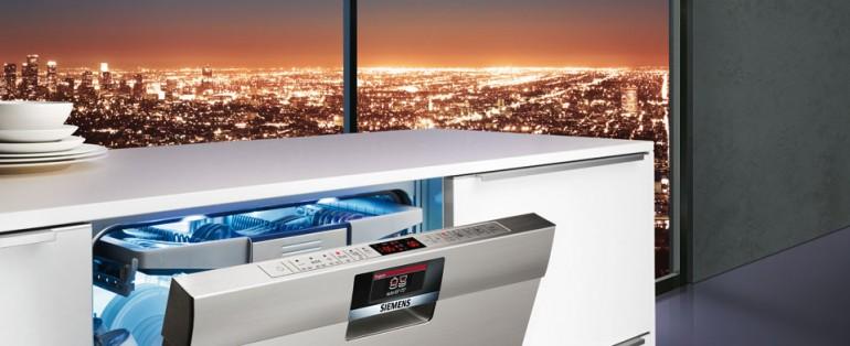 Siemens y el sistema de apertura open assist for Medidas de lavavajillas