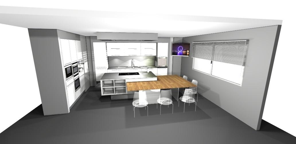 showroom de eventos de muebles de cocina