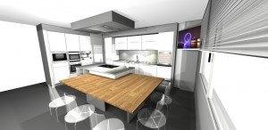 Showroom de muebles de Cocinas Rio