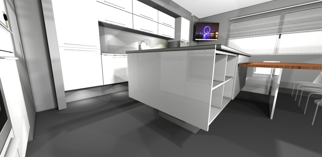 Showroom de eventos de muebles de cocina - Cocinas rio ...