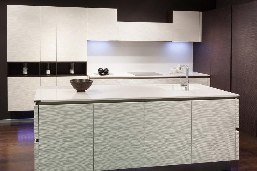 Cocinas blancas mil cocinas en una cocinas rio - Cocinas blancas y madera ...