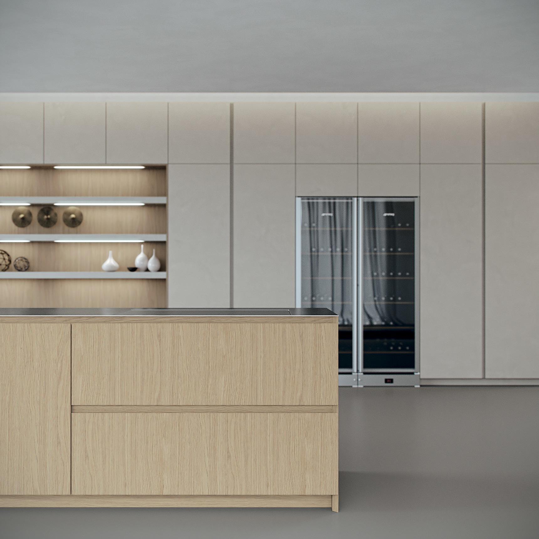 La cocina moderna rompe las barreras de los espacios