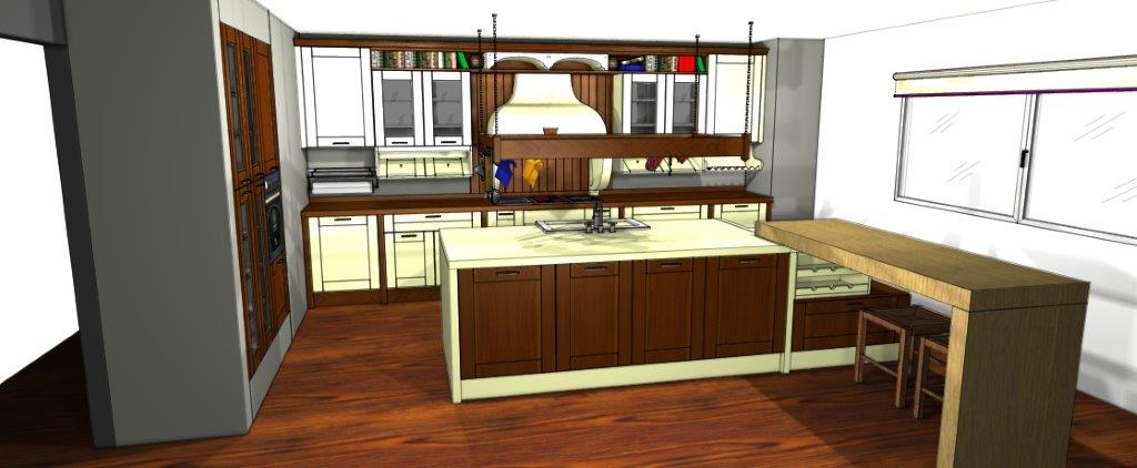 Presupuesto cocina online - Cocina rústica - Cocinas Rio