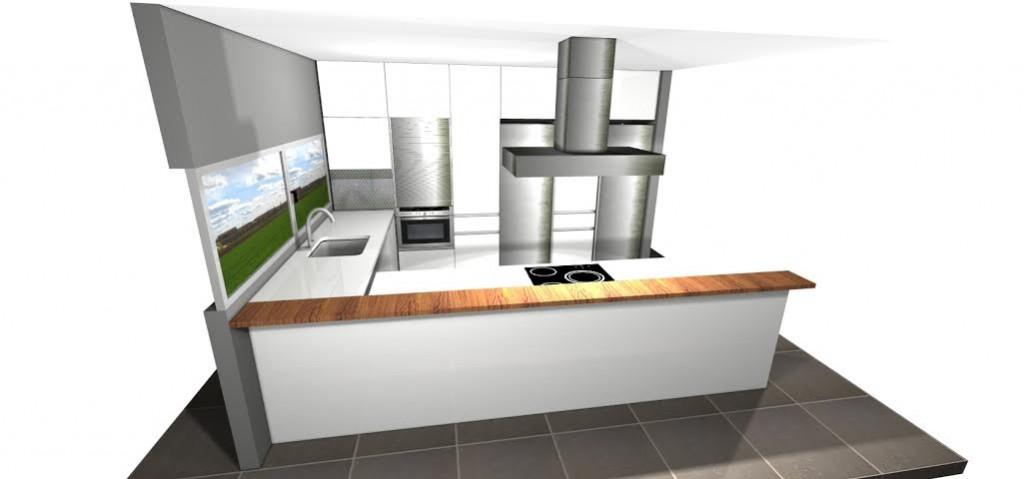 Diseño cocinas adaptadas