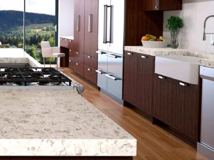 Las nuevas piedras de Compac traen la naturaleza americana a tu cocina