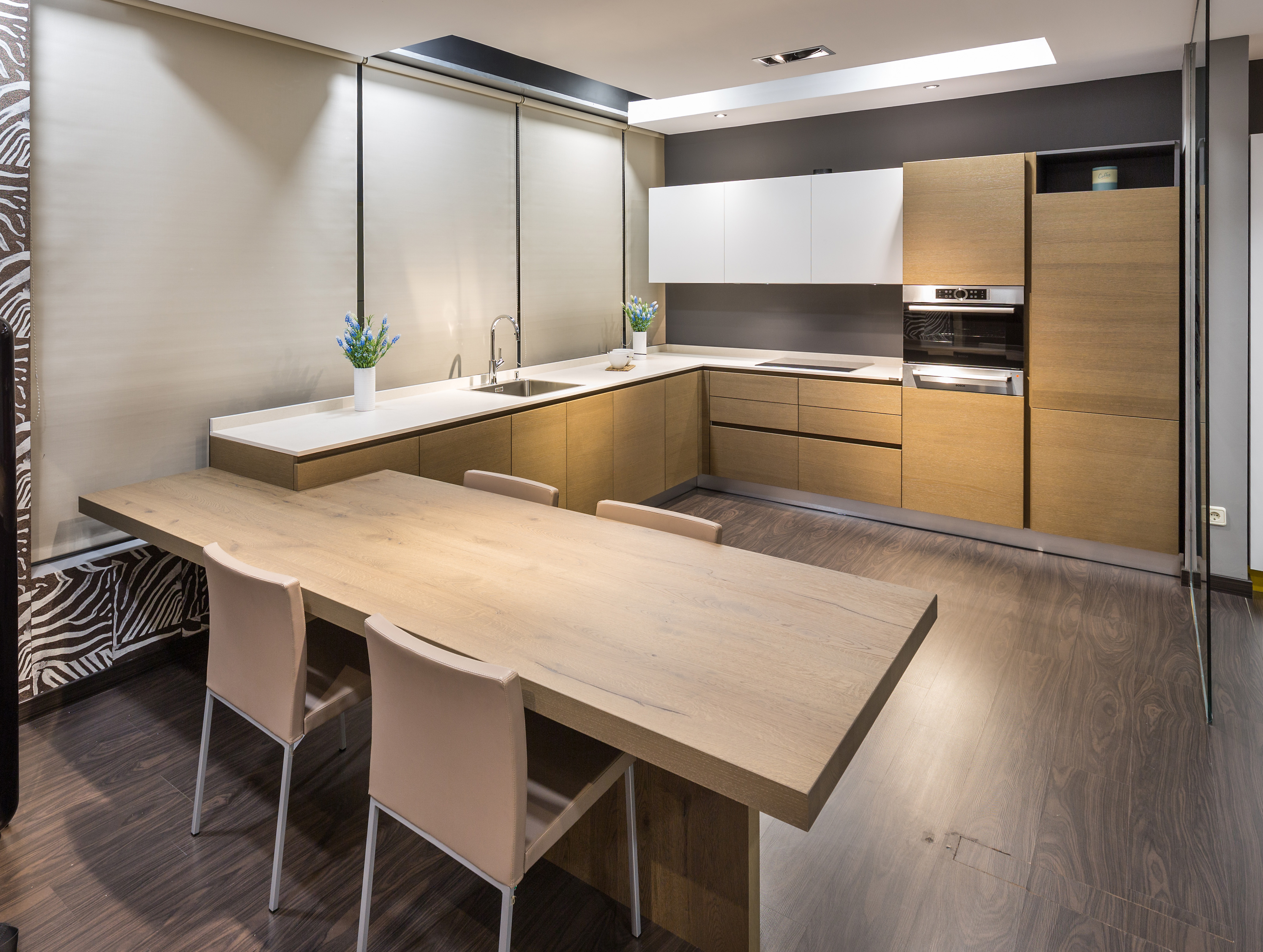 Las maderas pisan con fuerza cocinas rio for Modelo de cocina 2016