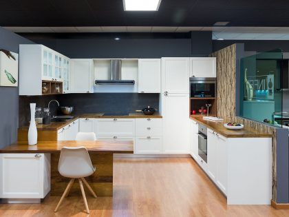 No hay límites para la comodidad y el diseño en el mobiliario de cocinas