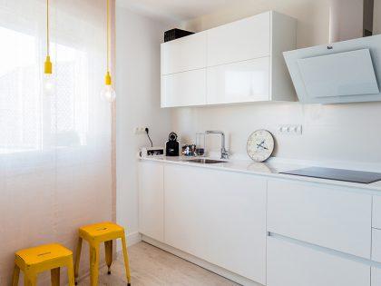 Sencillez y luminosidad para una cocina duradera