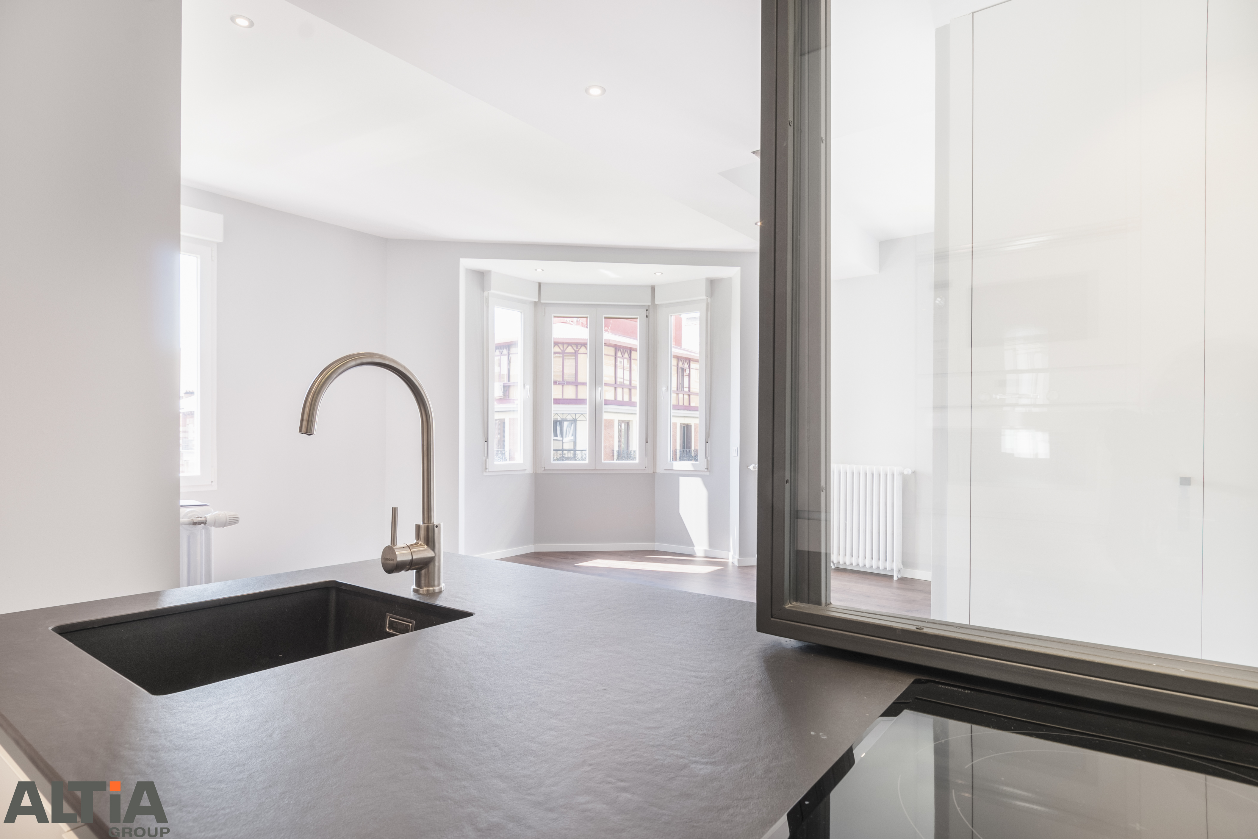 Moderno Muebles De Cocina En Dificultades Bricolaje Composición ...